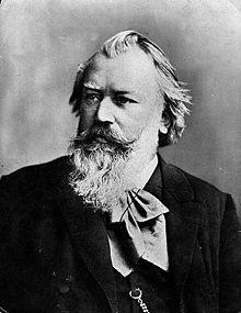 Johannes Brahms en 1889
