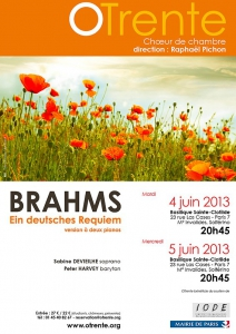 Affiche Deutsches Requiem