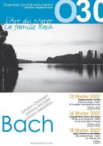Affiche Famille Bach