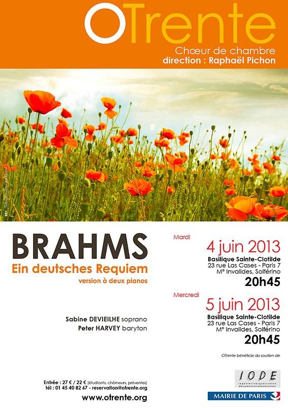 Affiche Deutsches Requiem
