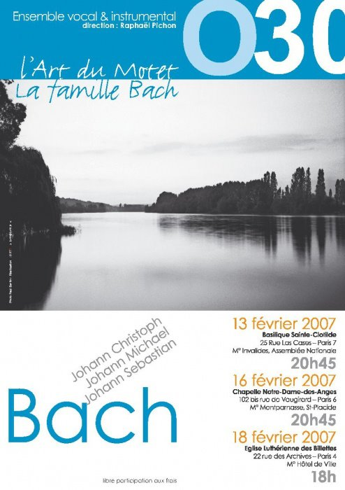 Affiche Famille Bach