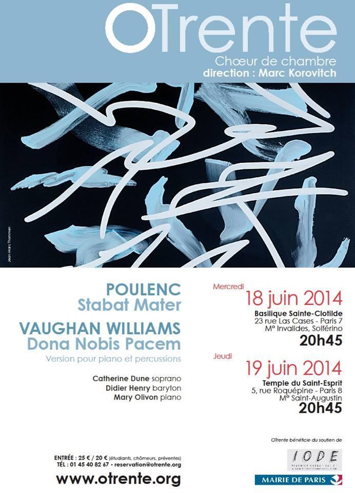 Affiche Poulenc Stabat