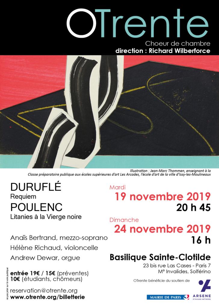 OTrente - Concert Duruflé